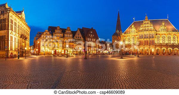 Bremen Fotografie uralt bremen bremen quadrat deutschland markt rathaus