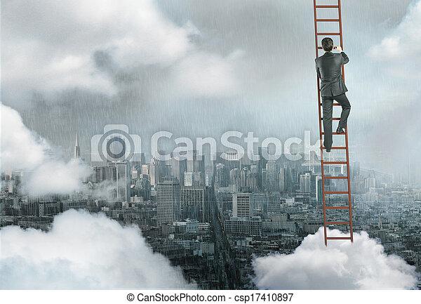 urbain, concept, business - csp17410897