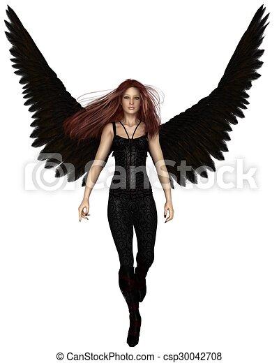 Urbain marche femme ange gardien urbain marche - Dessin d ange gardien ...