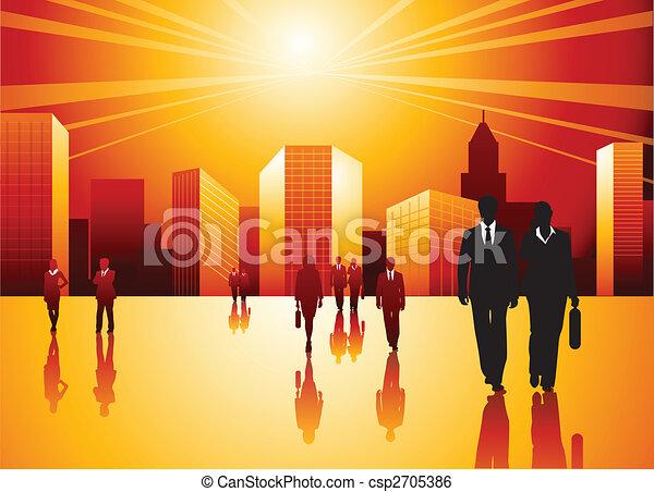 urbain, professionnels - csp2705386