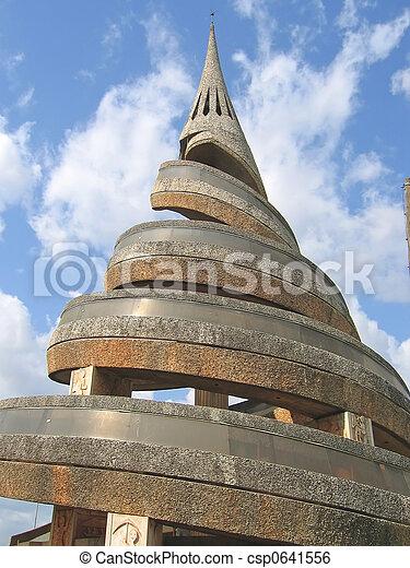 Urbain spirale moderne afrique architecture africaine for Architecture africaine