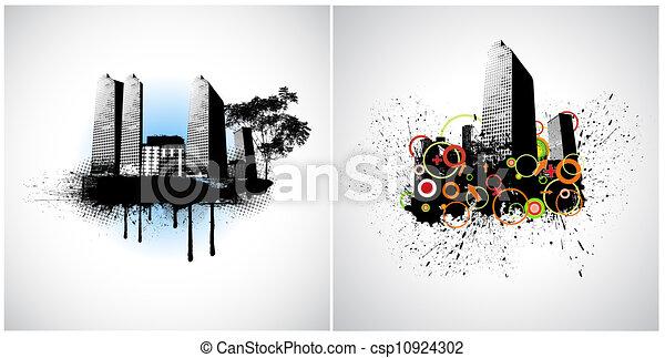 urbain, vectors - csp10924302