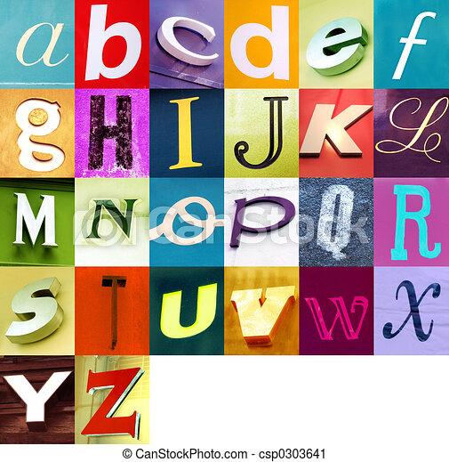 Urban alphabet 2 - csp0303641
