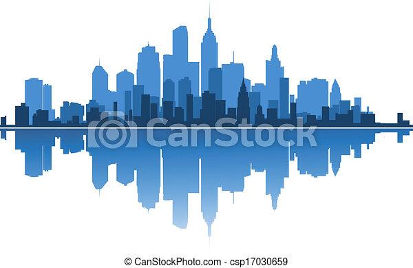 Urban architecture - csp17030659