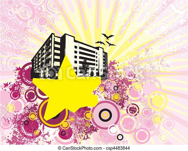 urban art - csp4483844