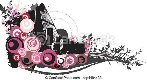 urban art - csp4484433
