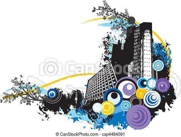 urban art - csp4484091