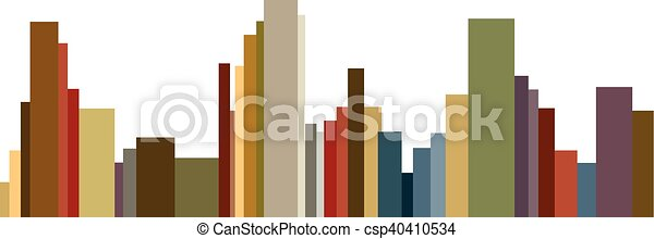 urban buildings - csp40410534