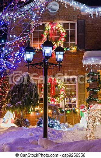 Urban Christmas - csp9256356