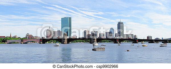 Urban City skyline panorama - csp9902966