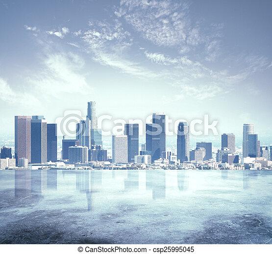 urban city - csp25995045