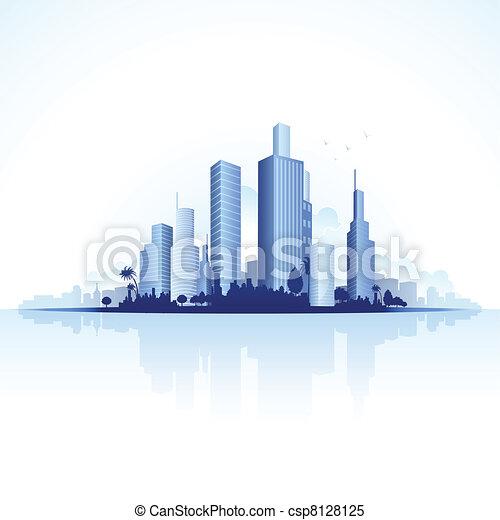 Urban City View - csp8128125