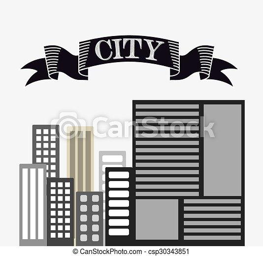 urban cityscape - csp30343851