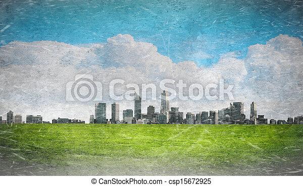 Urban cityscape - csp15672925