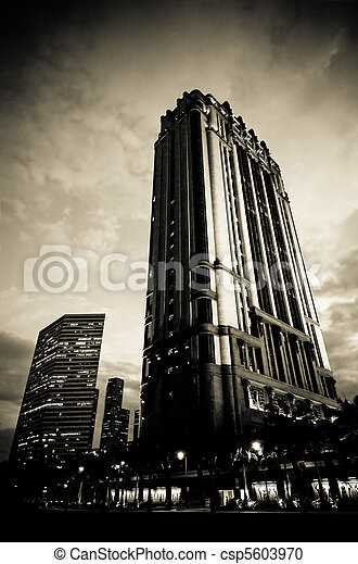 urban cityscape - csp5603970