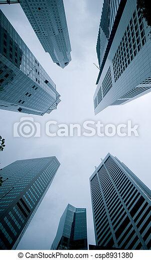 urban cityscape - csp8931380
