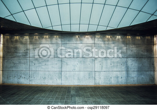 Urban Concrete Background - csp29118097