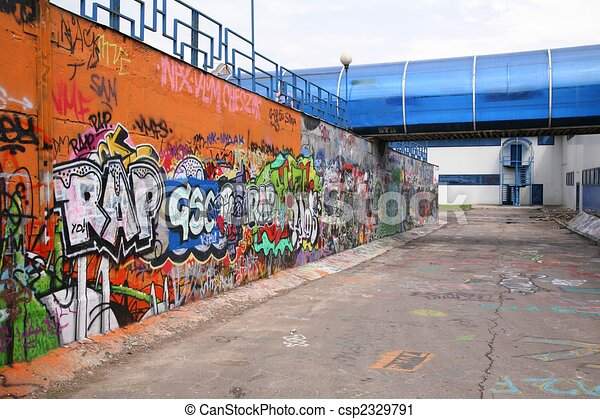 urban graffiti - csp2329791
