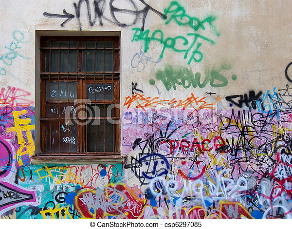 Urban grafity - csp6297085