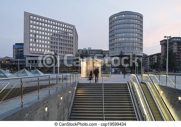 Urban landscape - csp19599434