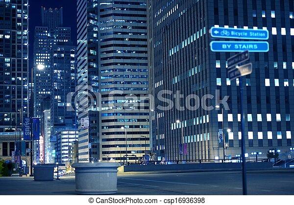 Urban Night Life - csp16936398
