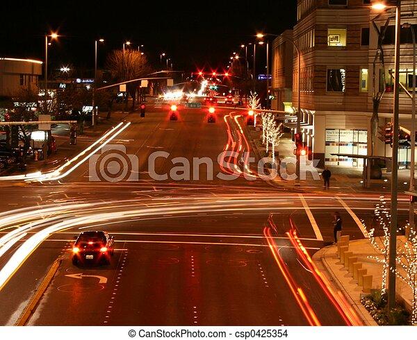 Urban Night - csp0425354