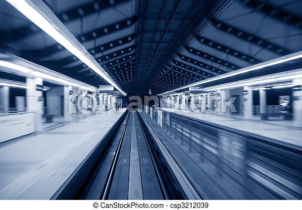 urban night traffic - csp3212039