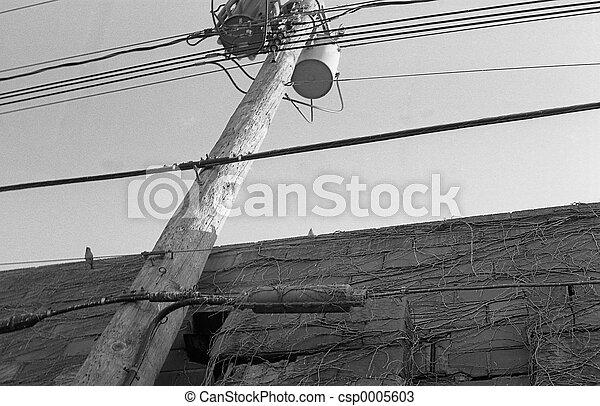 Urban Phone Wires - csp0005603