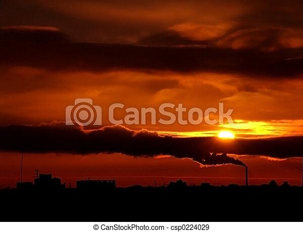 Urban Sunset2 - csp0224029