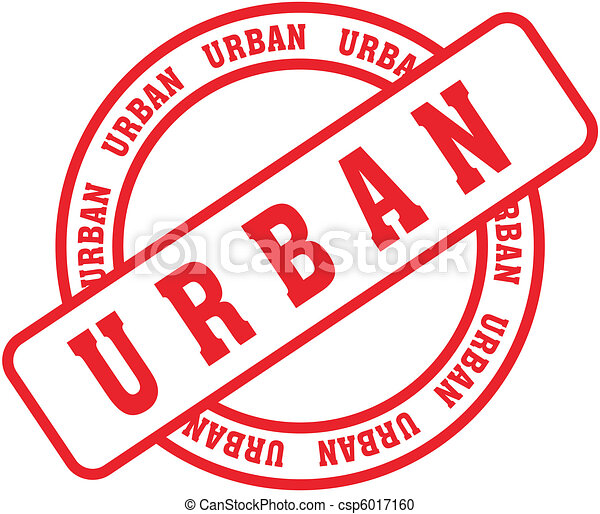 Vector Clipart of urban word stamp5 - urban word stamp in vector ...