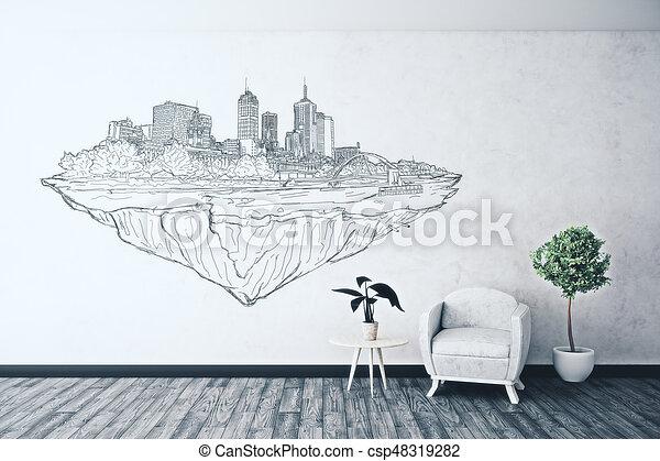 Urbanization Concept   Csp48319282