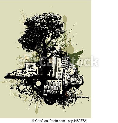 Arte urbano - csp4483772