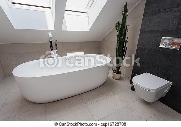 Apartamento urbano, baño de lujo - csp16728708