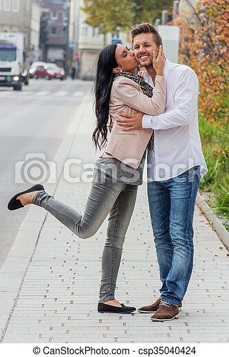 urbano, par, armando, amando - csp35040424