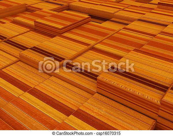 Abstraer madera urbana - csp16070315