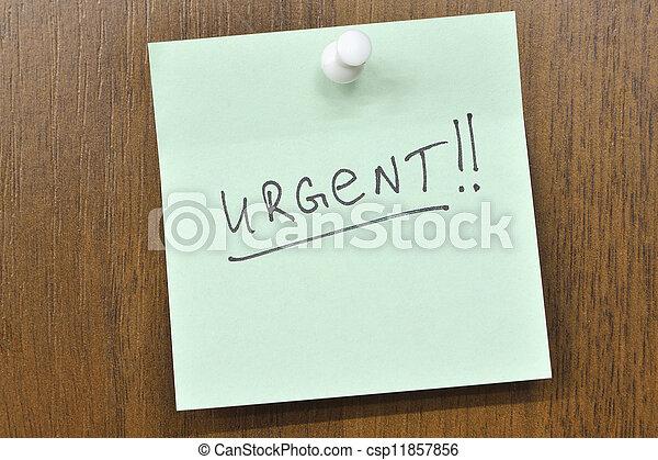 urgente - csp11857856