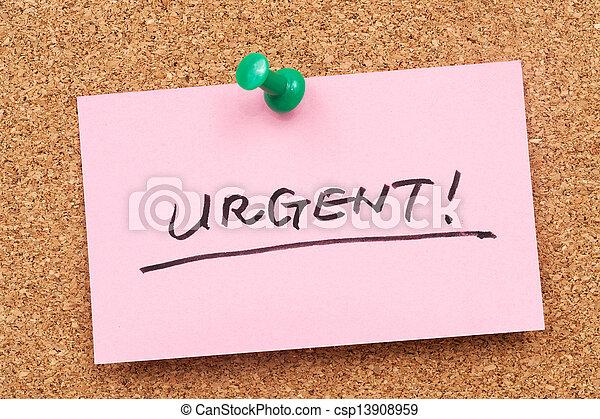 urgente - csp13908959