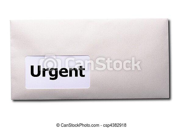 urgente - csp4382918