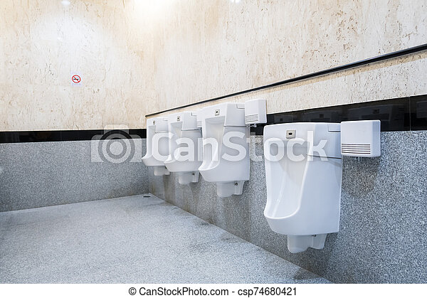 urinal on the wall - csp74680421