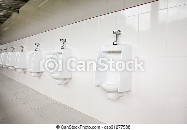 urinals in the open air - csp31277588