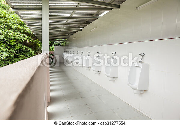 urinals in the open air - csp31277554