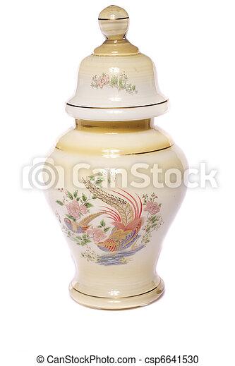 urn ceramic vase - csp6641530
