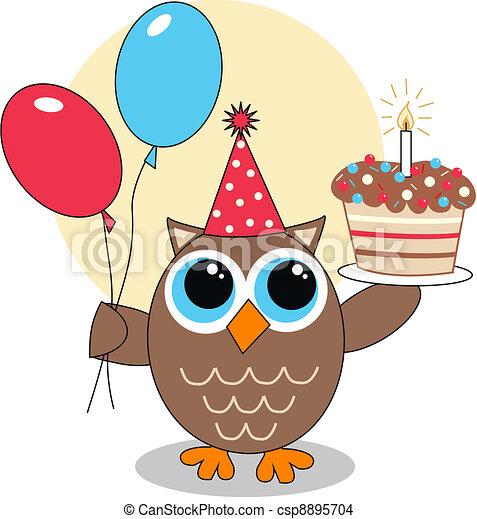 urodziny, szczęśliwy - csp8895704