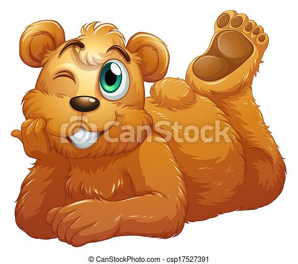 urso marrom - csp17527391