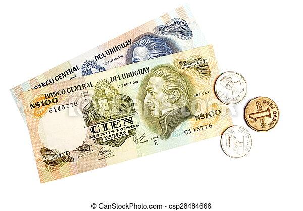 Uruguay currency - csp28484666