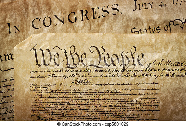 u.。s.。, クローズアップ, 憲法 - csp5801029
