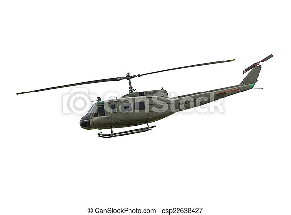US-1 Huey Helicopter - csp22638427