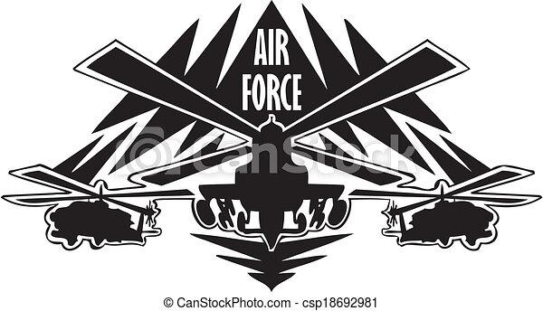 Line Art Vector Design : Us air force military design vinyl ready vector