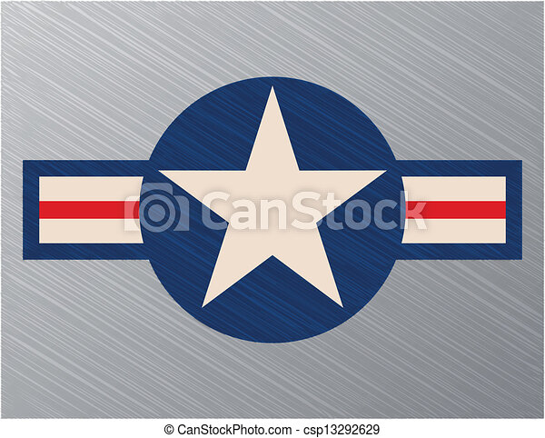 Us air force sign - csp13292629