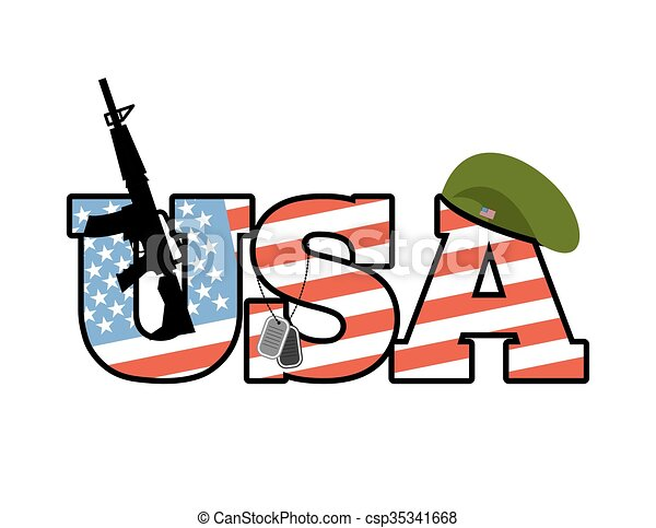 us army emblem flag of united states military green beret clip rh canstockphoto ie us army clipart free us army clipart images